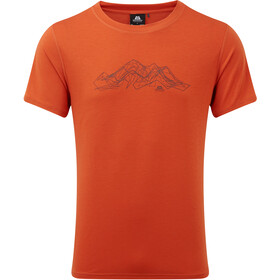 Mountain Equipment Groundup Mountain Tee Men paprika